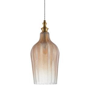 Mosadzná závesná lampa Sabres E27 small 0