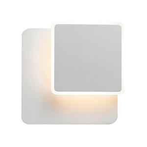 Biele moderné nástenné svietidlo Senato LED small 2