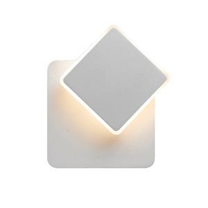 Biele moderné nástenné svietidlo Senato LED small 0
