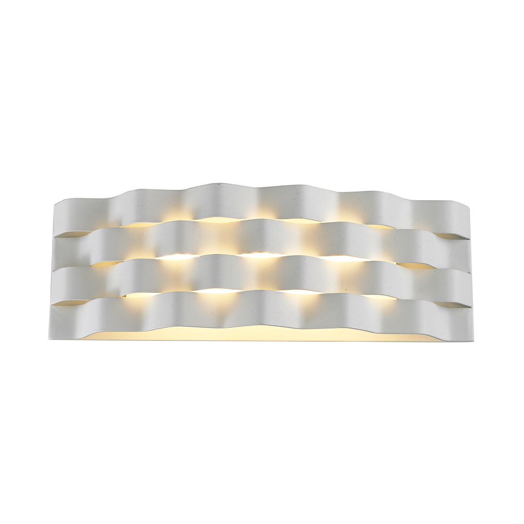 Moderné biele nástenné svietidlo Verigo LED