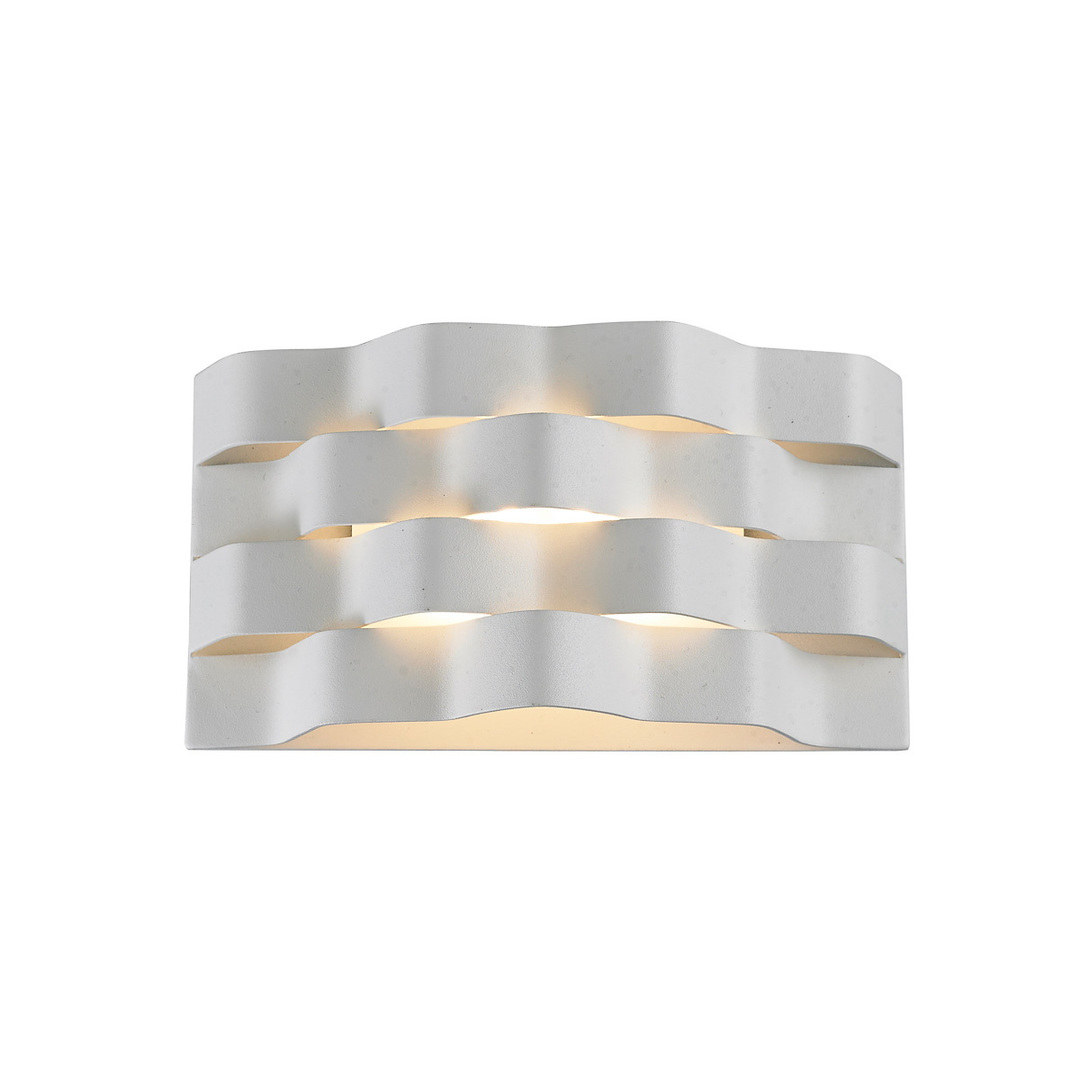 Biele moderné nástenné svietidlo Verigo