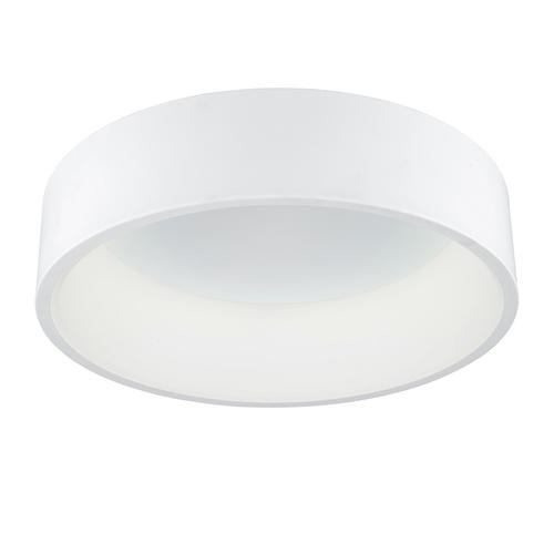 Biele moderné stropné LED svietidlo Chiara
