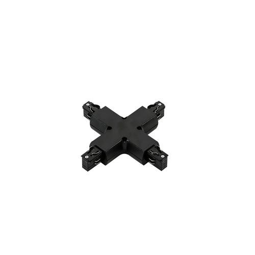 3fázová koľajnica - krížový kĺb čierna