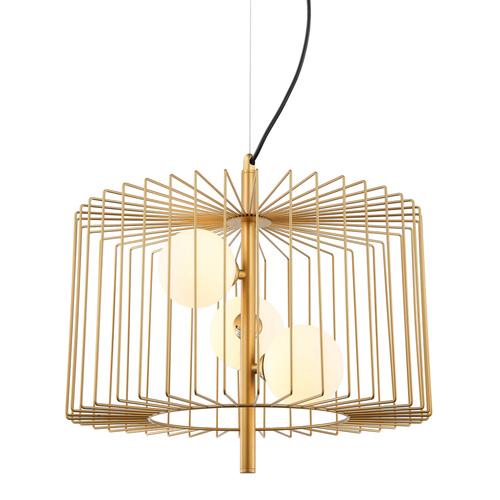 Moderná závesná lampa 3-žiarovka Daren G9