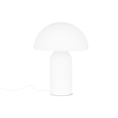 Biela stolná lampa Mizuni biela E27 3 žiarovka