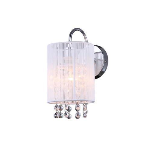 Biele nástenné svietidlo Lana WH E14