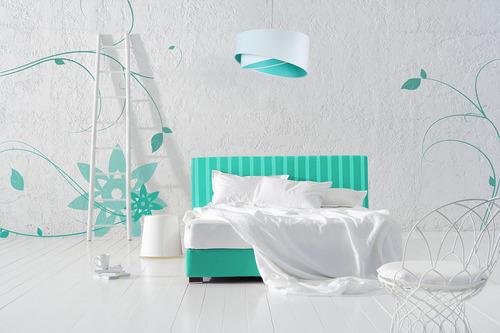 Elegantná lampa pre teenagerov 60W E27 biela / farby