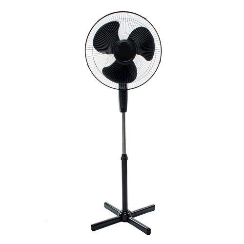 "Eko Light 16 ""čierny stojaci ventilátor"
