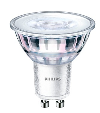 Žiarovka PHILIPS LED CorePro MR16 4,6 W = 50 W GU10 teplá biela