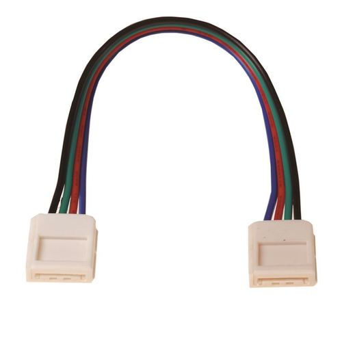 LED Rgb 10 mm konektor. Obojstranný konektor.