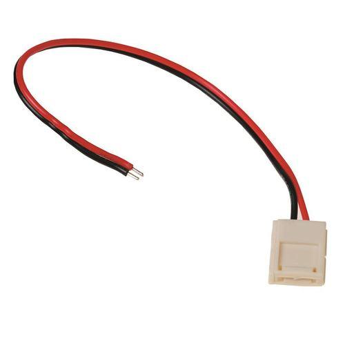 LED konektor 10mm. Spolupráca na jednej strane.